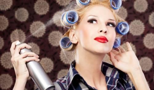 Λακ μαλλιών-Δες πως θα τη φτιάξεις μόνη σου εύκολα