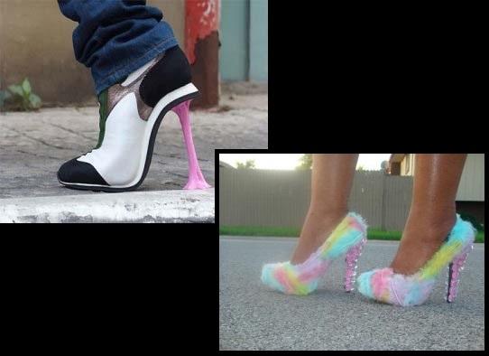 12 Περίεργα ψηλοτάκουνα παπούτσια που αξίζει να δεις...