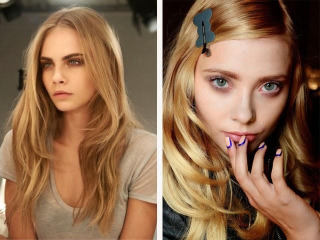 βαφή μαλλιών-ediva Χρυσή και μελί βαφή μαλλιών