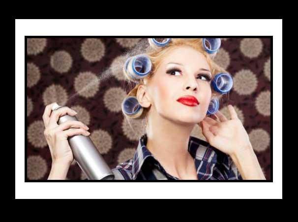 9 Εναλλακτικοί τρόποι να χρησιμοποιήσεις τη λακ μαλλιών!