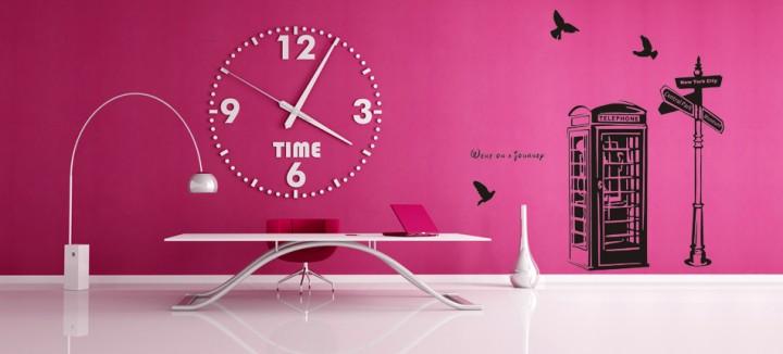Πως να διακοσμήσεις το σπίτι σου μ' όμορφα αυτοκόλλητα τοίχου!