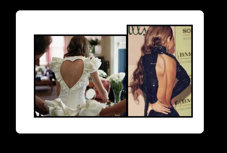 Εξώπλατα φορέματα  Με ποια χτενίσματα τα συνδυάζουμε και με τι σουτιέν 402ed0d3b32