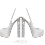 Νυφικά παπούτσια Dukas ediva.gr ediva (1)