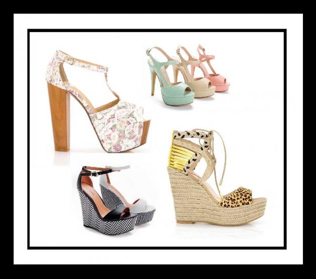10 Ψηλοτάκουνα γυναικεία παπούτσια για το Καλοκαίρι 2014!