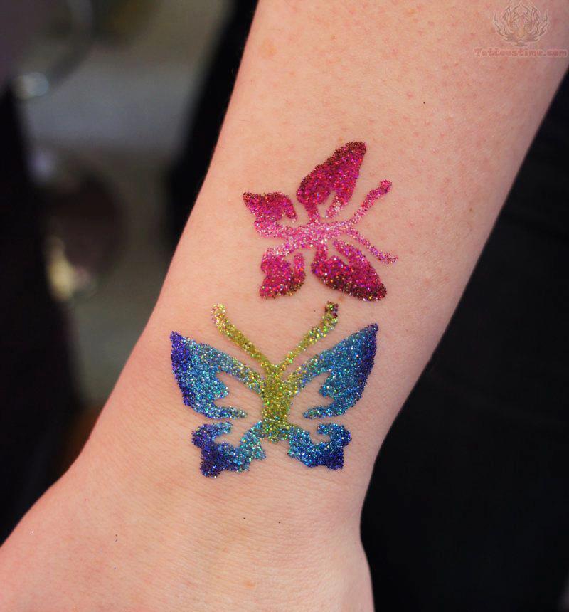Τατουαζ με γκλιτερ ediva.gr