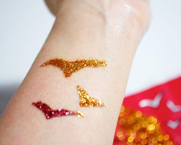 Glitter Tattoos ediva.gr