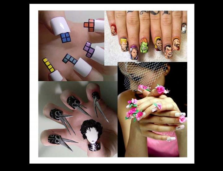 15 Περίεργα Nails Art...Εσύ θα τα τολμούσες;