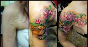 13 Υπέροχα Tattoo για κάλυψη ουλών, ραγάδων και σημαδιών
