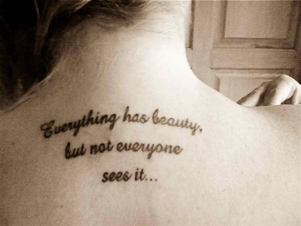 Tattoo με αγγλικές φράσεις ediva.gr