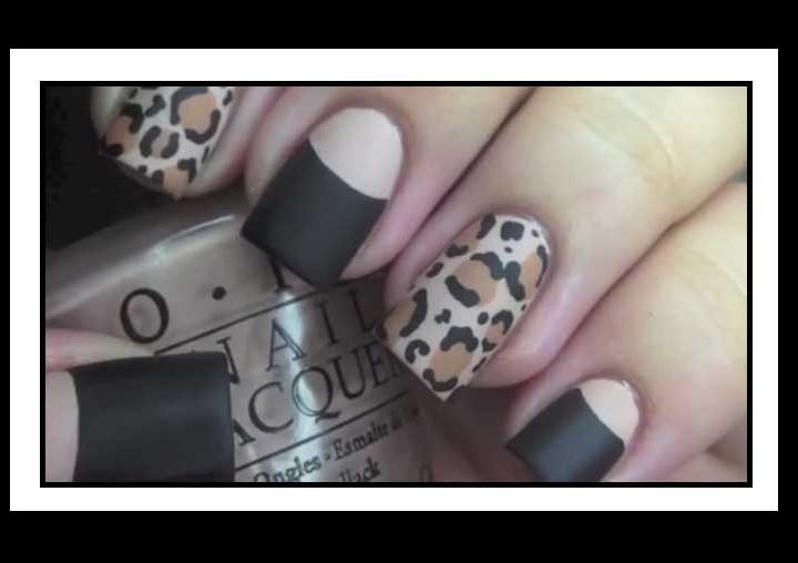 Nails Art: Πως να κάνεις Leopard μανικιούρ στα νύχια