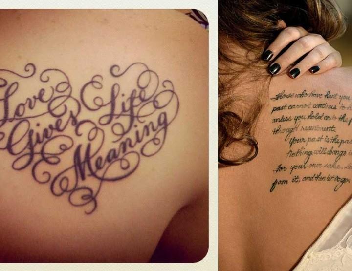 13 Όμορφες γραμματοσειρές tattoo για να διαλέξεις