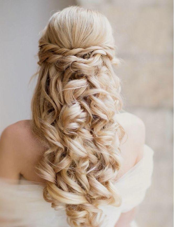 Νυφικά χτενίσματα μακριά μαλλιά