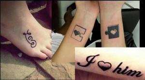 15 Όμορφα Tattoo αγάπης!