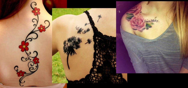 Tattoo-λουλούδια-ediva