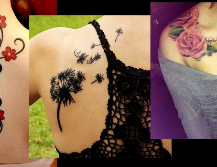 20 Όμορφα σχέδια και ιδέες για Tattoo με λουλούδια