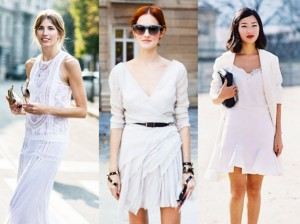 Total white ντύσιμο