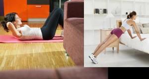 7 Αποτελεσματικές ασκήσεις γυμναστικής για περιττά κιλά