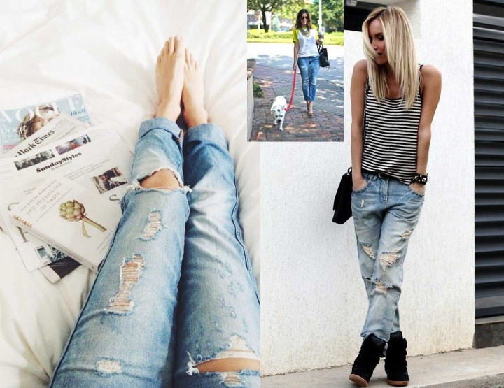 Γυναικεία jean παντελόνια (miss sixty, replay, staff)