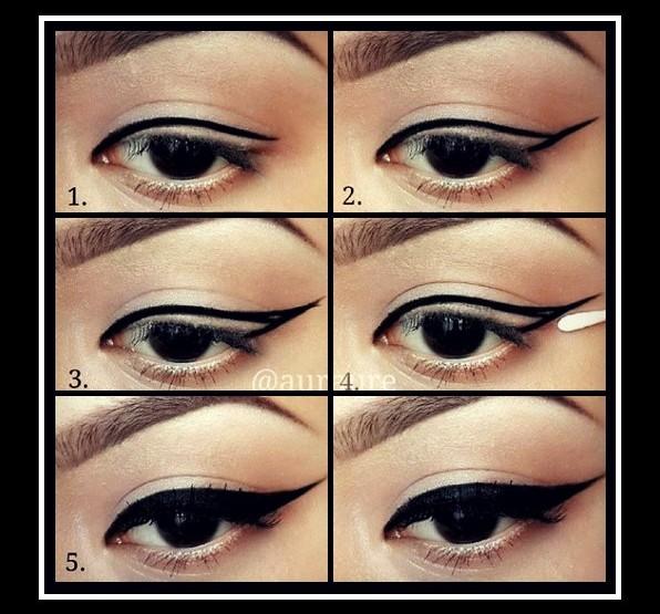 Βάλε eyeliner βάσει του σχήματος των ματιών σου!