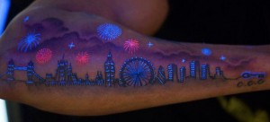 tattoo black light