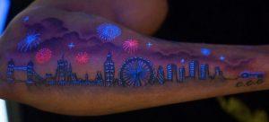tattoo black light
