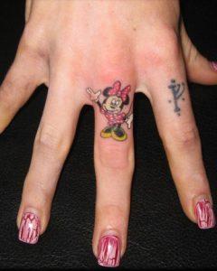 tattoo minnie