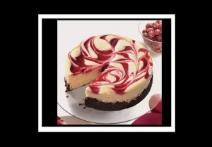 Φανταστική συνταγή για Cheesecake με κόκκινο μύρτιλλο!