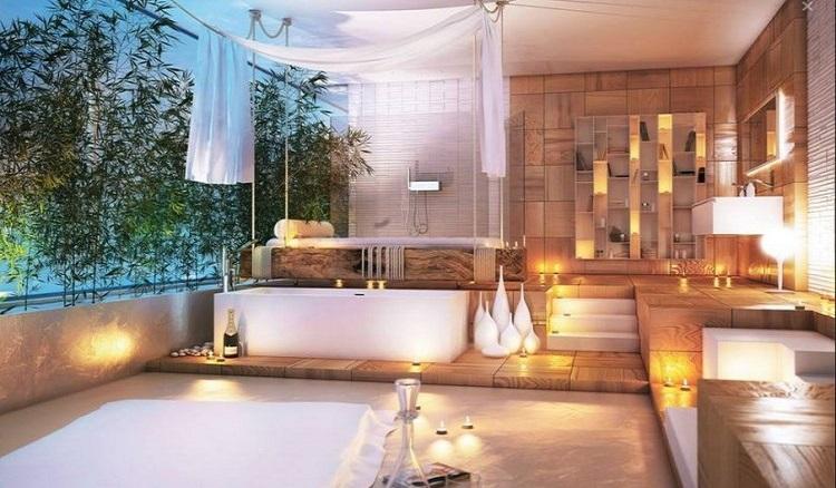- Salle de bain cocooning ...