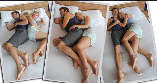 Τι σημαίνει η στάση που κοιμάται το ζευγάρι στο κρεβάτι;