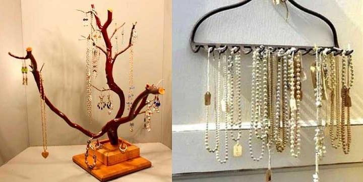 20 Τρόποι για να αποθηκεύσεις τα κοσμήματα σου!