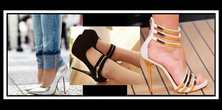 46 Γυναικεία παπούτσια (Μαύρα, Χρυσά, Ασημί)