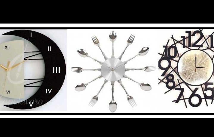 Εντυπωσιακά ρολόγια τοίχου για διακόσμηση!