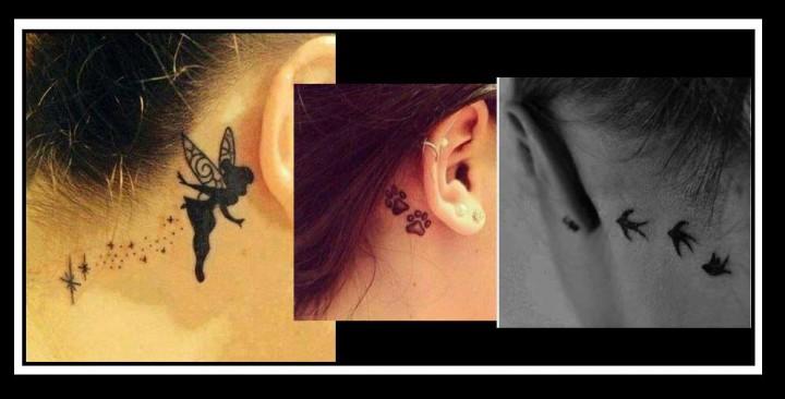 20 Ιδέες και σχέδια για υπέροχα Tattoo στο αυτί!