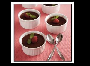 Κρέμα σοκολάτας σε cups, χωρίς γλουτένη!
