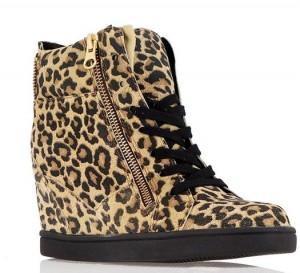 leopar sneakers