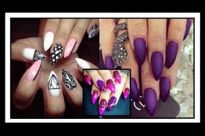 20 Εντυπωσιακές ιδέες για Stiletto nails (Swag)!