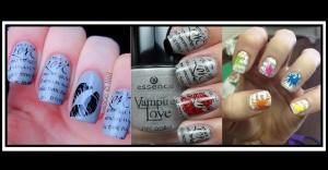 Nails Art: Πώς να κάνεις σχέδια Newspaper στα νύχια σου!