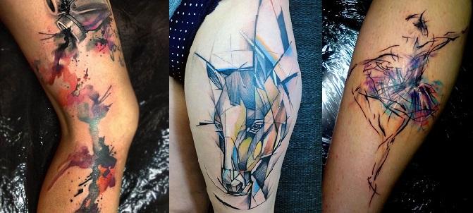 25 Υπέροχα σχέδια για Watercolor Tattoo!