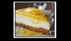 Εύκολη συνταγή για cheesecake με λεμόνι!