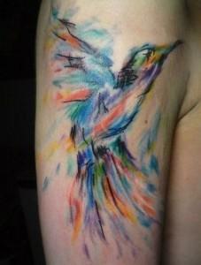 watercolor tatouaz