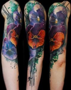 watercolor tattoo ediva.gr