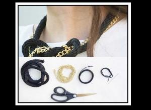Χειροποίητα κοσμήματα: Φτιάξε μόνη σου κολιέ από σχοινί!