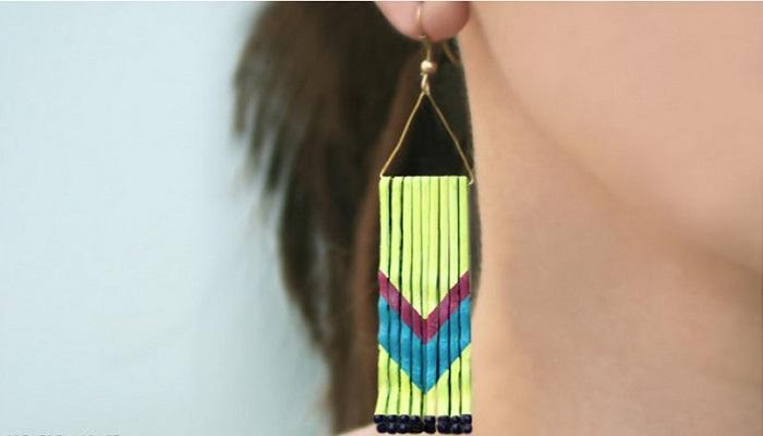 Χειροποίητα κοσμήματα: Φτιάξε μόνη σου όμορφα σκουλαρίκια!