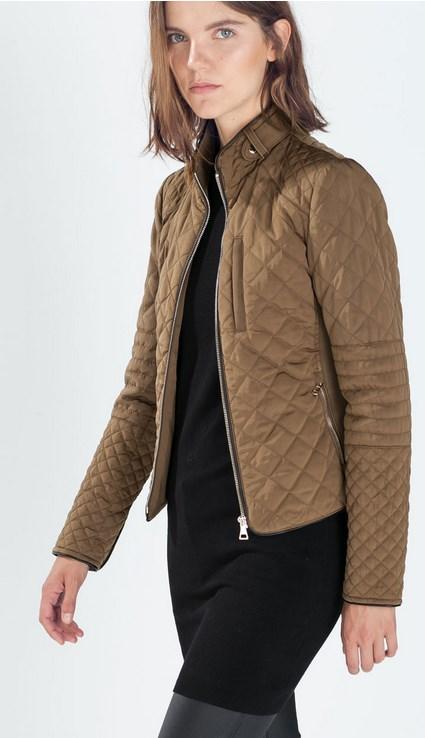 44 Γυναικεία μπουφάν Zara - H M - Bershka 2015!  4fd0bc776fa