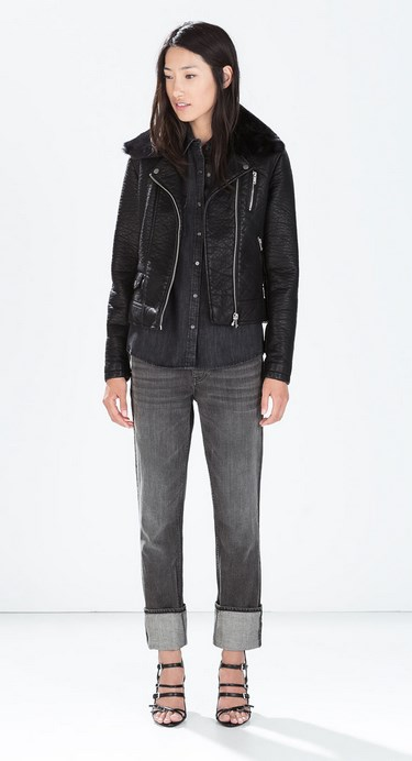 c92662e0a0d 44 Γυναικεία μπουφάν Zara - H&M - Bershka 2015! | ediva.gr