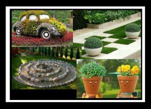 24 DIY ιδέες για να διακοσμήσεις τον κήπο σου!