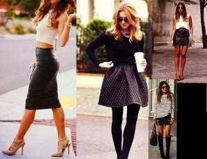 7 Τρόποι για να φορέσεις τη δερμάτινη φούστα σου!