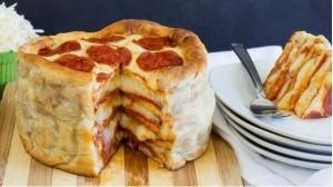 Πως να φτιάξεις Pizza cake!