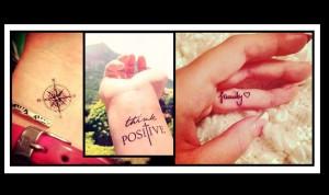 20 Όμορφα μικρά και διακριτικά Tattoo για όλο το σώμα!