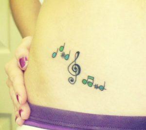 25 Εντυπωσιακές ιδέες για Tattoo μουσικής!